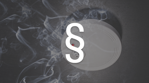 Die Rauchmelderpflicht wird in der Verordnung jedes Bundeslandes selbst geregelt.