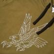 Military hoodie x Long Story Tattoo