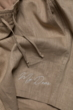 Flax shorts beige