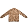 Leopard fleece anorak
