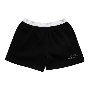 Cotton shorts black