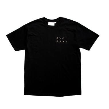 Symbols back tee black