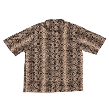 Snake silk shirt