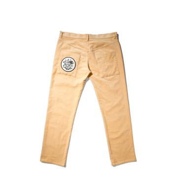 Corduroy beige pants