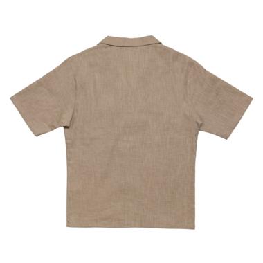 Bowling shirt beige