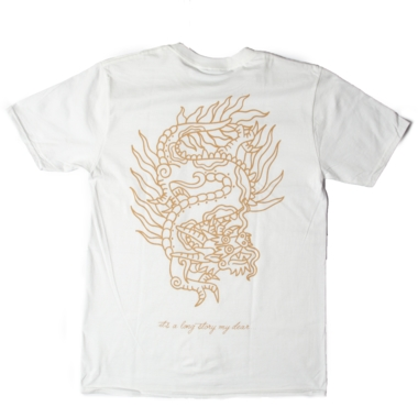 Dragon tee x Long Story Tattoo