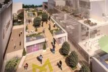 מתחם מידטאון שנבנה במרכז תל אביב הוא שטח המסחר הגדול בישראל