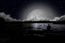 הירח מבין מה זה להיות אנושי