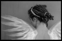 מלאך עם ראסטות