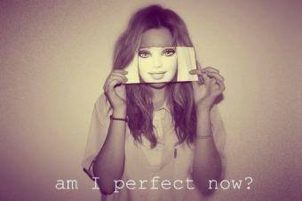 אני לא מושלמת, וזה לגמרי בסדר