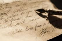 לא נשאר לי כלום מלבד לכתוב לך