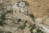 מנזרים במדבר יהודה | מנזר סנט ג'ורג' בואדי קלט | מנזר סנט ג'ורג'