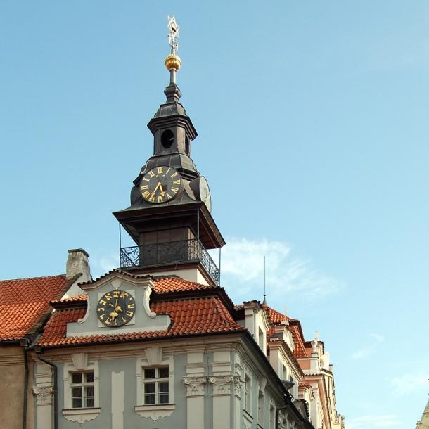 הרובע היהודי בפראג | סיור מודרך ברובע היהודי בפראג | בית הכנסת הישן חדש בפראג | בית הקברות היהודי העתיק בפראג