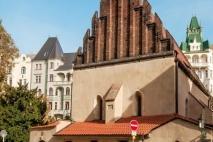 בית הכנסת הישן חדש בפראג | אלטנוישול פראג | בתי כנסת בפראג