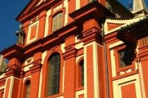 בזיליקת ג'ורג' הקדוש פראג | אתרי חובה בפראג | אתרים מומלצים בפראג