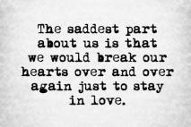 אין אמצע באהבה