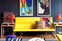 עיצוב פנים צבעים | שילובי צבעים יפים | בחירת צבע לסלון עיצוב פנים