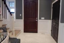 דלתות עץ מלא לכניסה לבית