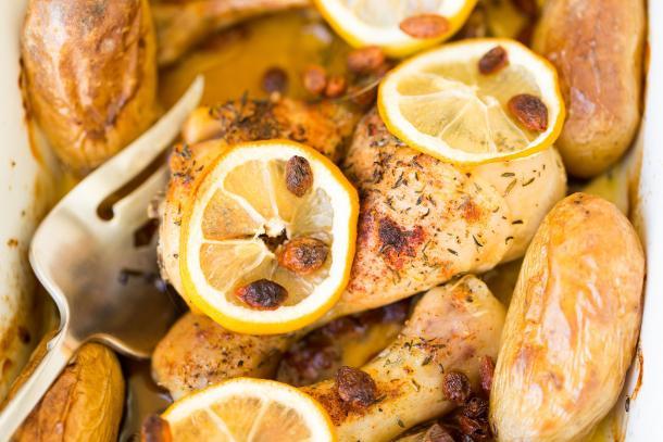 עוף ותפוחי אדמה