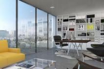 ברק רוזן ואסי טוכמאייר: הצגת המשרדים היוקרתיים של מידטאון תל אביב