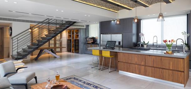 עיצוב דירות ובתי יוקרה - שחר פרנס אדריכלים