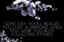 יהלומים.