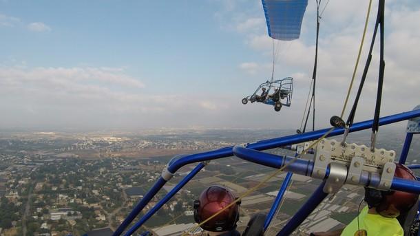 טיסה בטרקטורון מעופף היא חוויה מיוחדת!