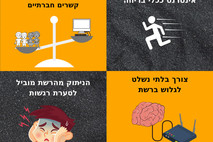 נפשך: ארבע התנהגויות של מכורים לאינטרנט