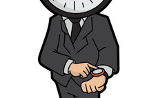 פגישה עם מר זמן / הנעלם הגלוי