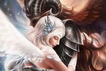 כשמלאך הרוע פוגש את מלאכית הטוב