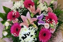 שלחת לי פרחים