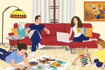 משפחת חרוזוני
