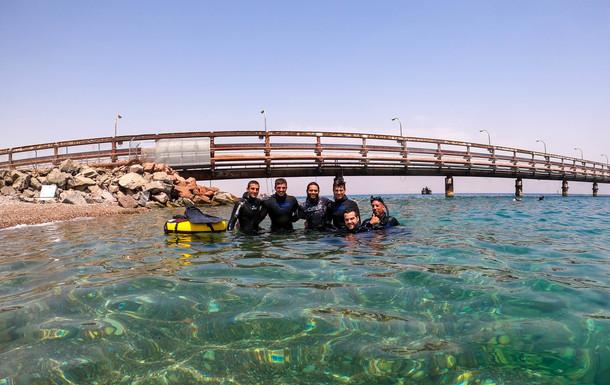 Freediving in Israel