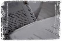 הקטע הזה של הכתיבה