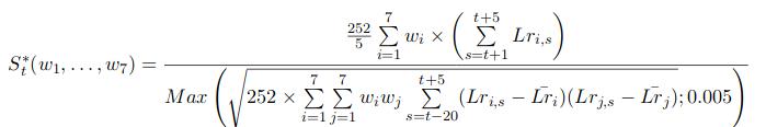 sharpe_formulas