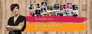 Blues, soul in jazz petje - tečaj