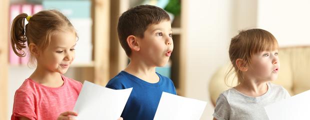 Pevske vaje za otroke