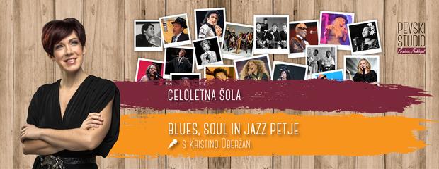 Blues, soul in jazz petje - šola