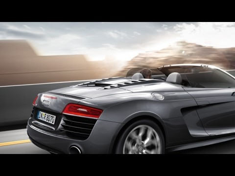 audi r8 spyder v8 4 2 fsi quattro 2015 price specs motory saudi arabia. Black Bedroom Furniture Sets. Home Design Ideas
