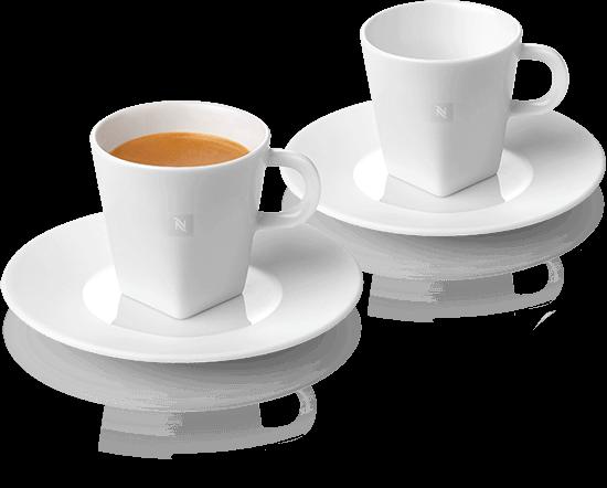 Pure espresso kopjes