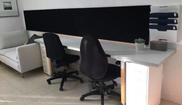 Mesa de trabajo en estudio de Arquitectura_img