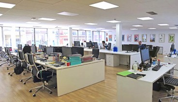 Nested oficina compartida en madrid nested comparte for Oficinas amazon madrid