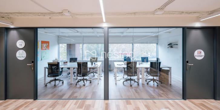 Utopicus despachos/oficinas privadas para 6 pax._image