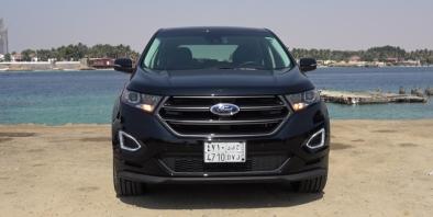 Ford Edge  In Saudi Arabia  C B Test Drive