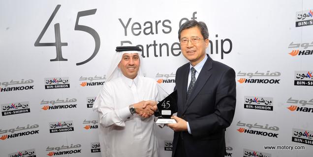 Bin Shihon Group Co Ltd And Hankook Tire Co Ltd 45 Years And