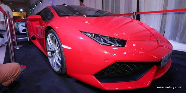 Al Ghassan Motors Launches The New Lamborghini Huracan Motory
