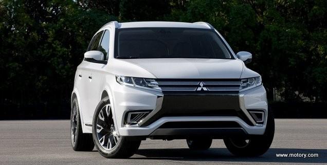 mitsubishi outlander phev concept-s | motory saudi arabia