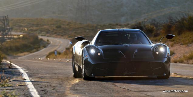 Pagani Huayra 2014 Test Drive | Motory Saudi Arabia