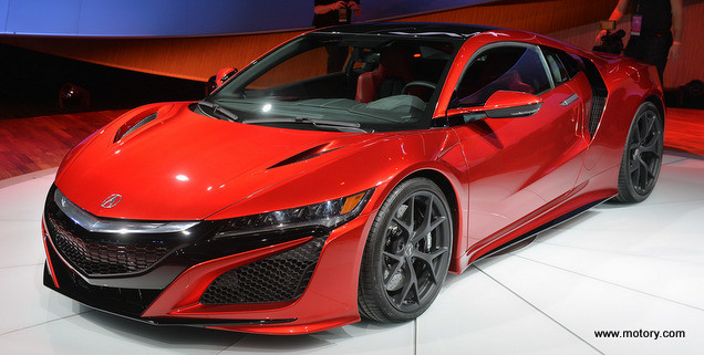 The Acura Nsx 2016 Is Here ! Detroit Auto Show 2015 | Motory Saudi ...