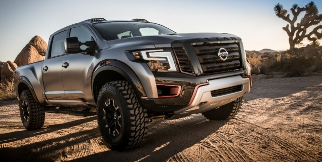 Nissan Titan Warrior Concept And Nissan Ids Concept Featured At 2016